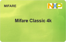 Mifare Classic 4K Contactless Smart Card